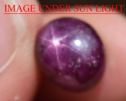 6.93 Ct Star Ruby CERTIFIED Beautiful Natural Unheated Untreated