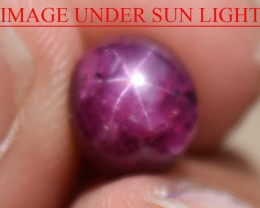 4.24 Ct Star Ruby CERTIFIED Beautiful Natural Unheated Untreated