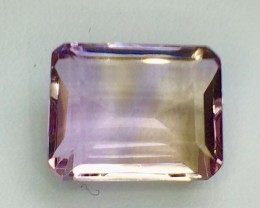 8.89 Crt Natural Ametrine Faceted Gemstone (MG 18)