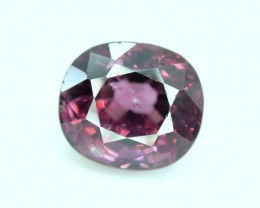 2.55 cts Oval Cut voilet UNtreated And Unheated Spinel gemstone from Burma