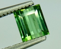 0.91 Crt Natural Green Tourmaline Beautiful Faceted Gemstone (MG 18)