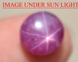 3.50 Ct Star Ruby CERTIFIED Beautiful Natural Unheated Untreated