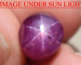 6.50 Ct Star Ruby CERTIFIED Beautiful Natural Unheated Untreated