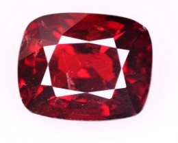 GIL CERT~ 3.32 CT NATURAL STUNNING RED SPINEL GEMSTONE