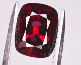 GIL CERT~3.59 CT NATURAL RED SPINEL GEMSTONE