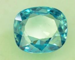 Top Grade 3.70 ct Blue Zircon