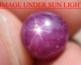 6.42 Ct Star Ruby CERTIFIED Beautiful Natural Unheated Untreated