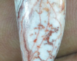 8.05 CT CRAZY LACE AGATE  BEAUTIFUL NATURAL CABOCHON x7-110