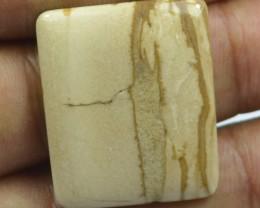 32.50 Cts Peanut Wood Jasper Natural Cabochon x20-2