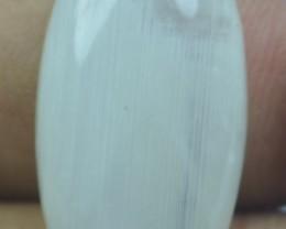 25.50 ct Rainbow Moonstone Cabochon Natural Stone x30-161