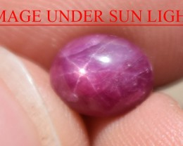 2.79 Ct Star Ruby CERTIFIED Beautiful Natural Unheated Untreated