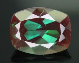 Rarest 1.68 ct Sunstone Green Color Change Ponderosa Mine Oregon SKU.2