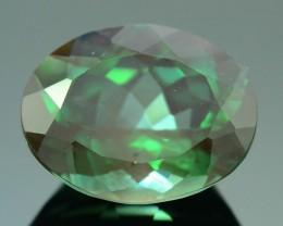 Rarest 2.23 ct Green Sunstone Color Change Ponderosa Mine Oregon SKU.2