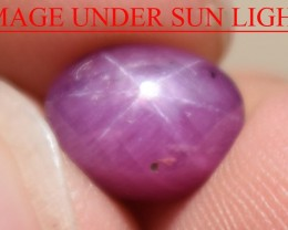 4.67 Ct Star Ruby CERTIFIED Beautiful Natural Unheated Untreated