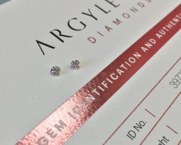 2 = 0.20ct NCP SIAV Certified Argyle Pink Diamondd