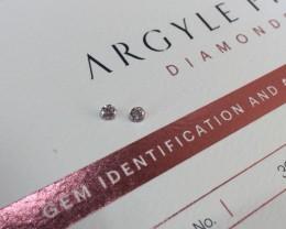 2 = 0.22ct PCE SIAV Certified Argyle Pink Diamond