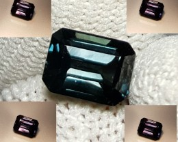 UNHEATED CERTIFIED 1.60 CTS NATURAL BEAUTIFUL COLOR CHANGE SAPPHIRE CEYLON