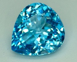 19.09 Crt Natural Topaz Top luster Facetted Gemstone. (T 12)