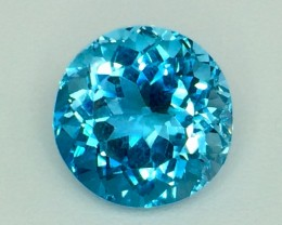 12.05 Crt Natural Topaz Facetted Gemstone . (T 13)