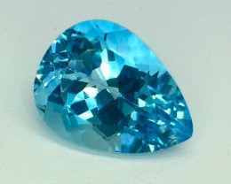21.00 Crt Natural Topaz Facetted Gemstone. (T 14)