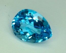 12.94 Crt Natural Topaz Facetted Gemstone. (T 18)