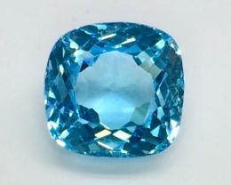 11.29 Crt Natural Topaz Facetted Gemstone. (T 20)