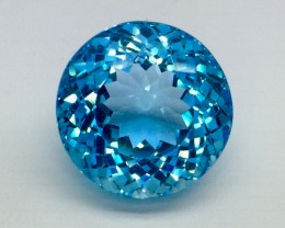36.84 Crt Natural Topaz Top Luster Facetted Gemstone. (T 23)