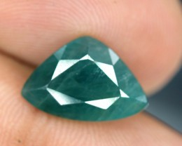 No Reserve - 3.60 cts Curved Trillion Cut Rare Grandidierite Gemstone From