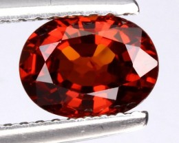 1.42ct Orange Red Spessartite Garnet No Reserve