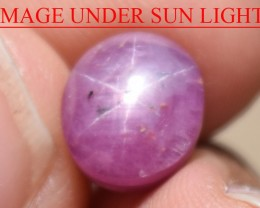 5.24 Ct Star Ruby CERTIFIED Beautiful Natural Unheated Untreated
