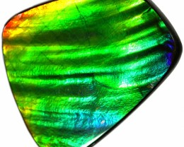 28.25 CTS AMMOLITE STONE FROM CANADA [SAFE141]