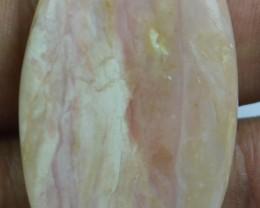 Pink Opal Cabochon 49.25 Cts Beautiful Natural x11-9