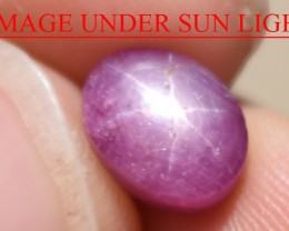 3.88 Ct Star Ruby CERTIFIED Beautiful Natural Unheated Untreated