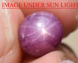 6.21 Ct Star Ruby CERTIFIED Beautiful Natural Unheated Untreated