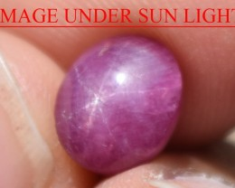 4.12 Ct Star Ruby CERTIFIED Beautiful Natural Unheated Untreated