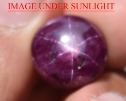 17.48 Ct Star Ruby CERTIFIED Beautiful Natural Unheated Untreated