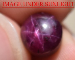 8.36 Ct Star Ruby CERTIFIED Beautiful Natural Unheated Untreated