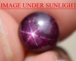 5.08 Ct Star Ruby CERTIFIED Beautiful Natural Unheated Untreated