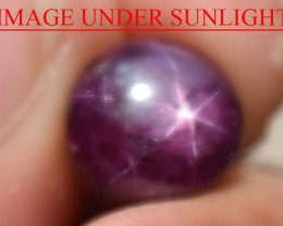 5.35 Ct Star Ruby CERTIFIED Beautiful Natural Unheated Untreated