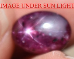 6.25 Ct Star Ruby CERTIFIED Beautiful Natural Unheated Untreated