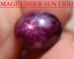 4.98 Ct Star Ruby CERTIFIED Beautiful Natural Unheated Untreated