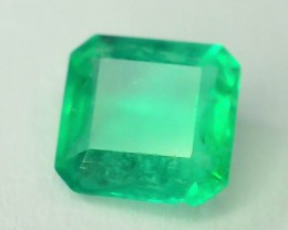 Columbian Emerald 0.55 ct Glowing Color
