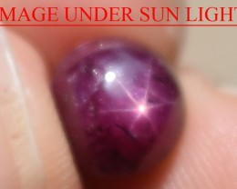 4.62 Ct Star Ruby CERTIFIED Beautiful Natural Unheated Untreated