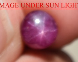 3.01 Ct Star Ruby CERTIFIED Beautiful Natural Unheated Untreated