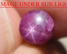 2.98 Ct Star Ruby CERTIFIED Beautiful Natural Unheated Untreated