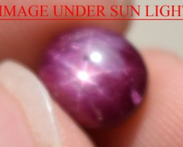 3.83 Ct Star Ruby CERTIFIED Beautiful Natural Unheated Untreated