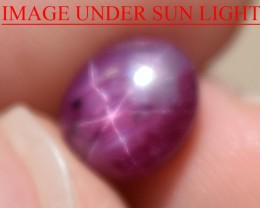 3.18 Ct Star Ruby CERTIFIED Beautiful Natural Unheated Untreated