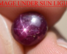 3.27 Ct Star Ruby CERTIFIED Beautiful Natural Unheated Untreated
