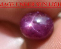 3.60 Ct Star Ruby CERTIFIED Beautiful Natural Unheated Untreated