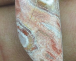 8.30 CT CRAZY LACE AGATE  BEAUTIFUL NATURAL CABOCHON x7-117